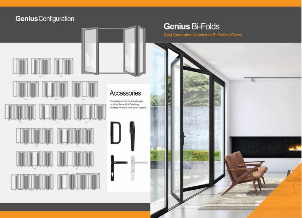 Bi-Folding Door or Bi Fold Door Brochure Page 1